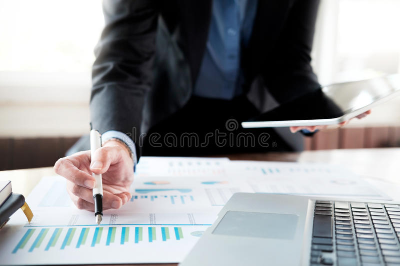 Business analysis planing and solution objective strategy conce royalty free stock photography