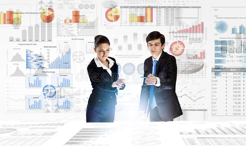 Business analytics royalty free stock photo