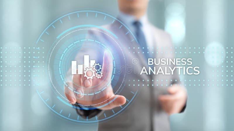 Business analytics intelligence analysis BI big data technology concept. stock image