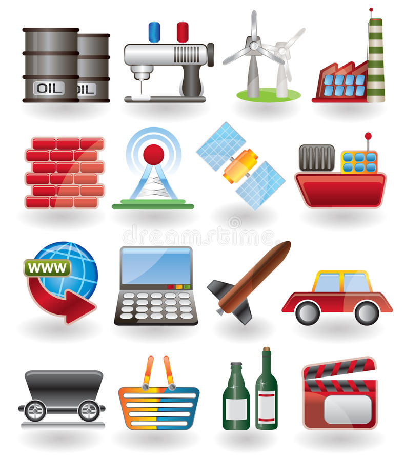 Free Business And Industry Icon Stock Photography - 10004972