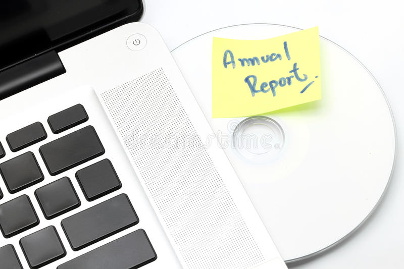 Download Business Annual Report stock image. Image of load, disc - 23115849