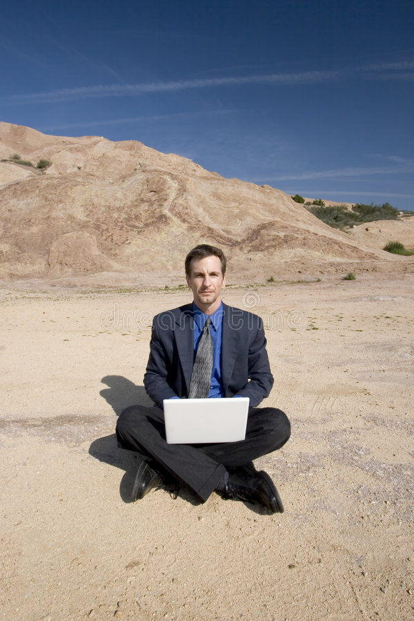 Business anywhere stock photography