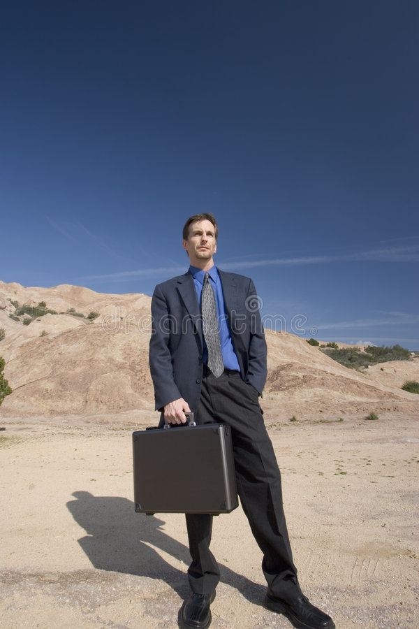 Business anywhere stock image