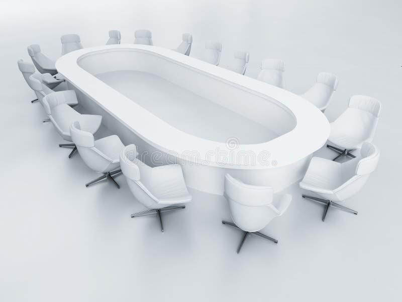 Business armchairs stock illustration
