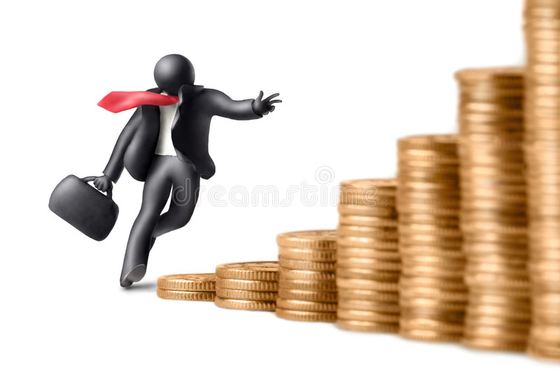 Download Business by ascending 2 stock image. Image of idea, emulous - 3313233