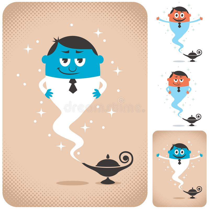 Download Business Assistant stock vector. Illustration of jinn - 29089704