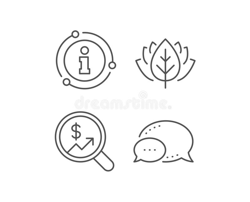 Business Audit or Statistics line icon. Vector royalty free illustration