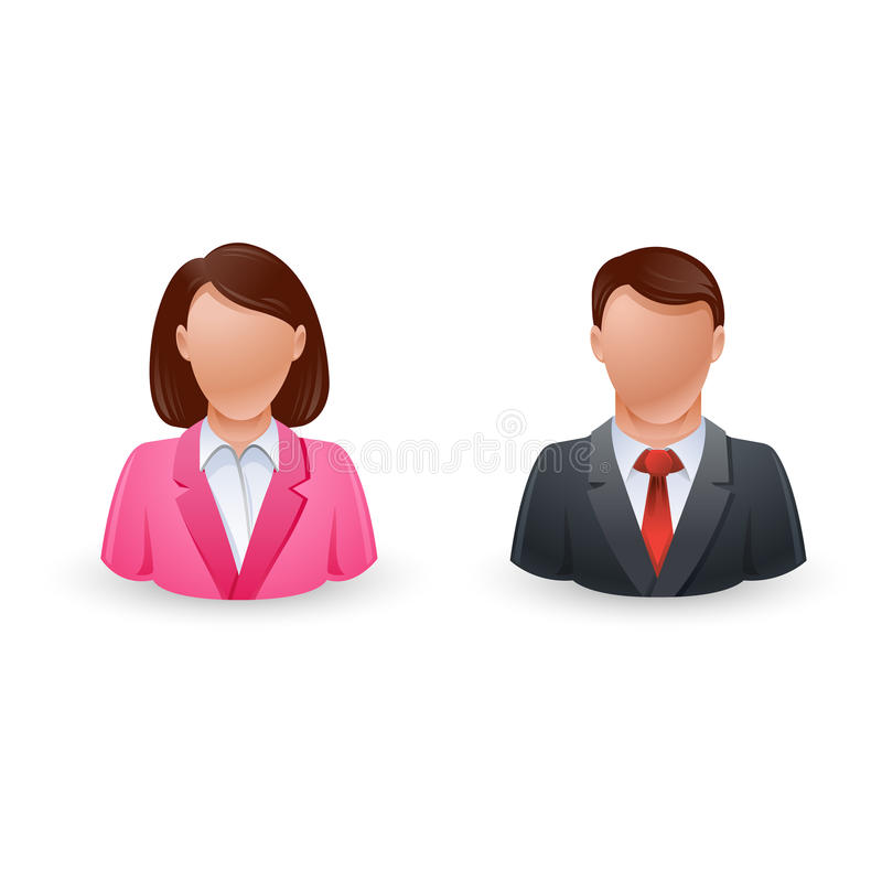 Download Business Avatar icon stock vector. Image of internet - 25654714