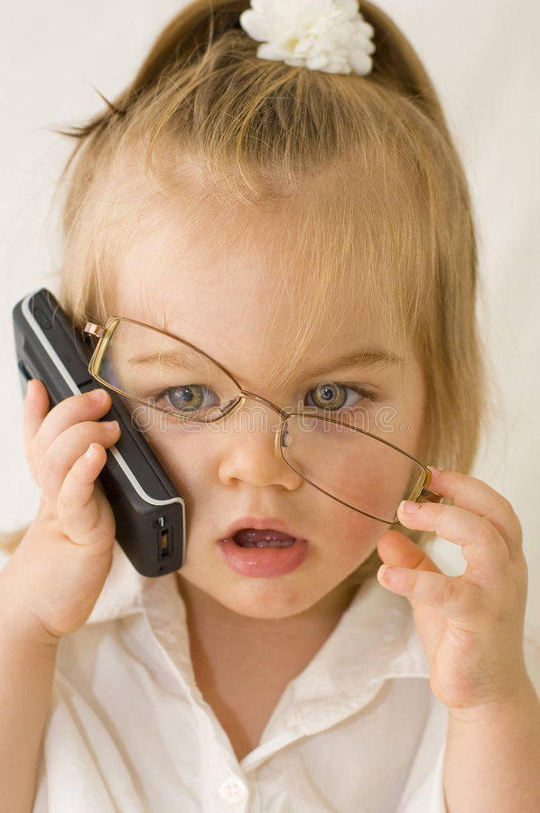 Download Business baby stock image. Image of cellphone, executive - 7919245