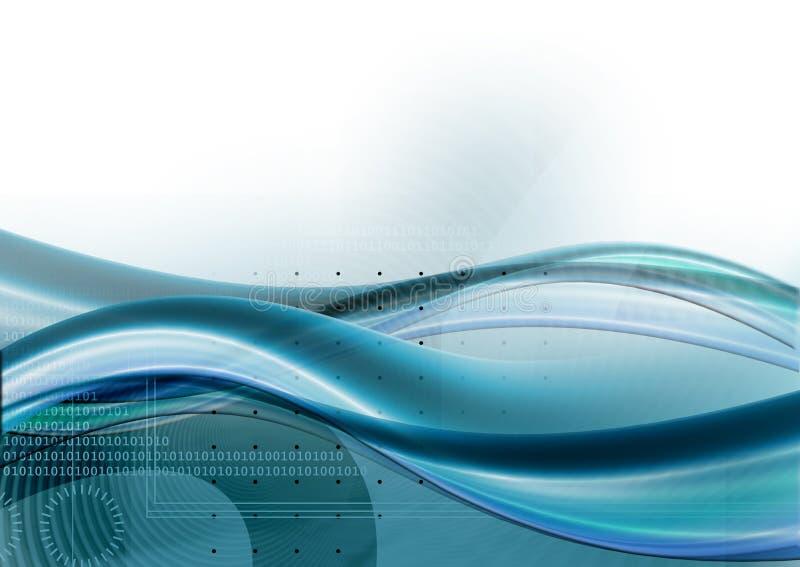 Business background. Digital background design for business vector illustration