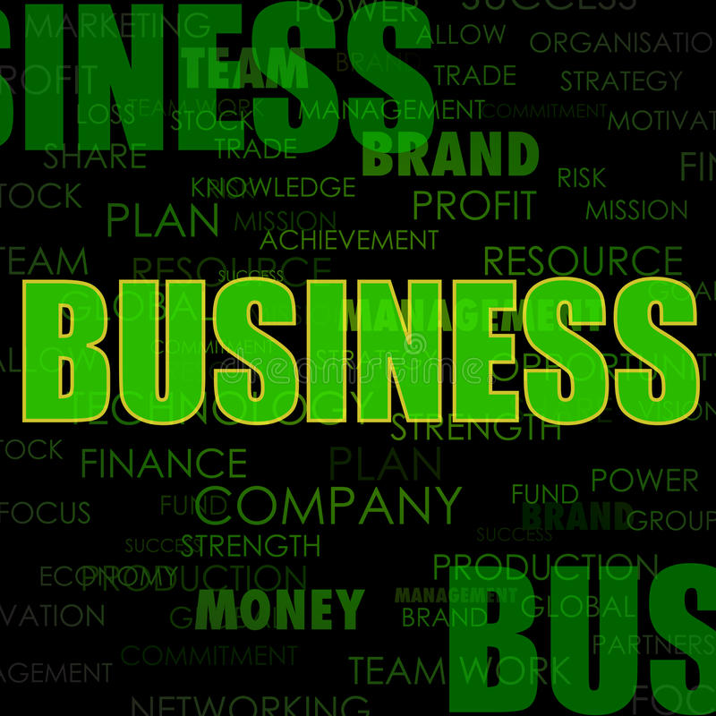 Download Business background stock illustration. Image of advertising - 25146370