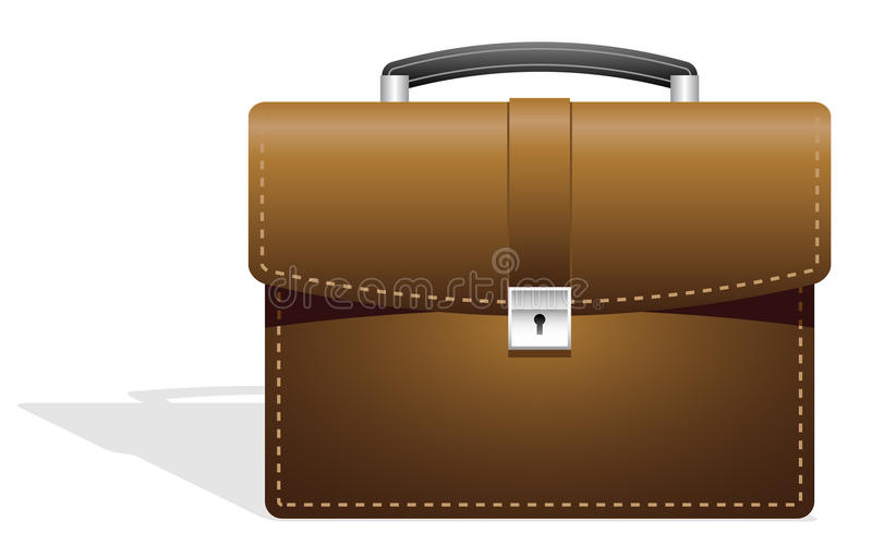 Business bag. royalty free stock image