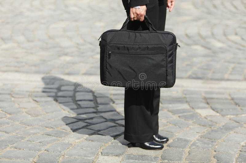 Download Business bag stock image. Image of shoes, person, shadow - 9662433