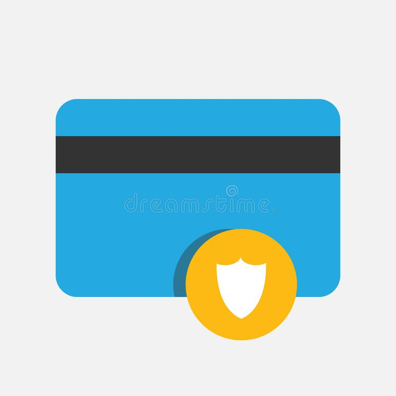 Business, Banking and Finance icon, payment secure protection, credit card flat vector illustrationBusiness, Banking and Finance i vector illustration