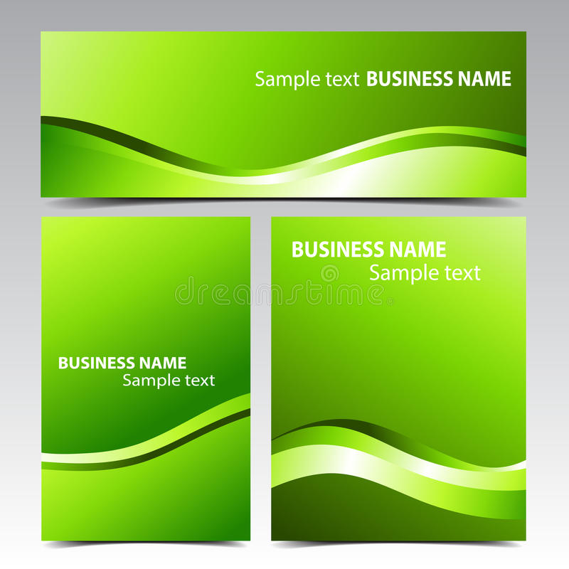 Download Business Banner stock vector. Illustration of bent, glossy - 37475660