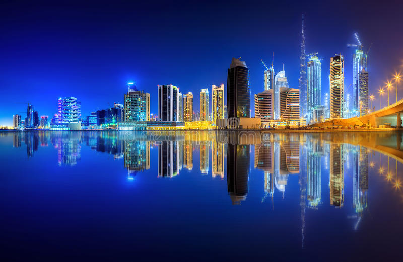 Download Business bay of Dubai, UAE stock photo. Image of dubai - 82514004
