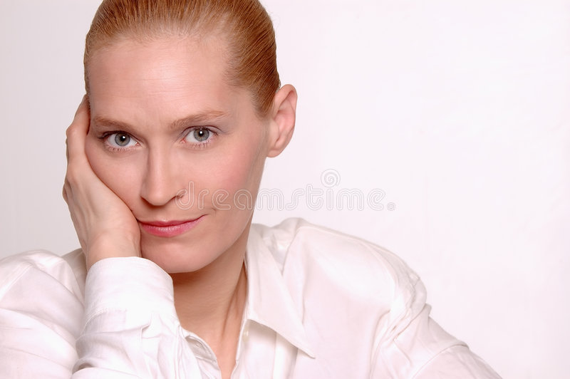 Business Beauty portrait royalty free stock images