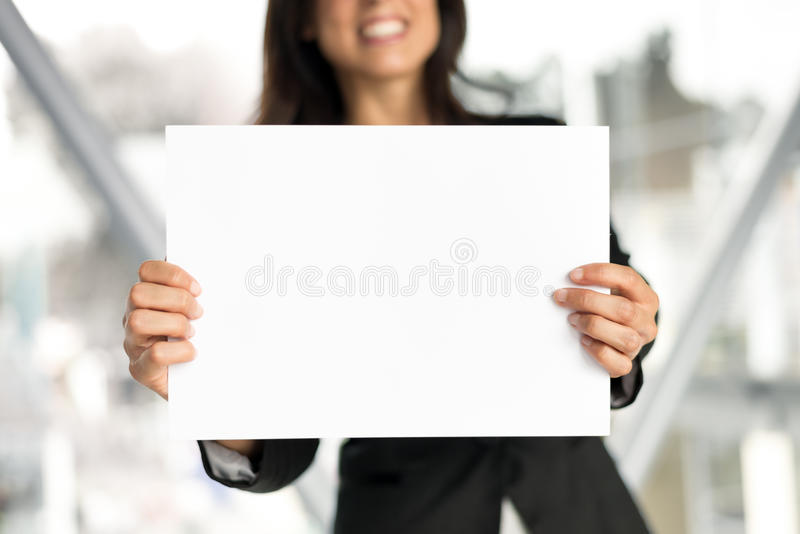Business blank space banner royalty free stock photos