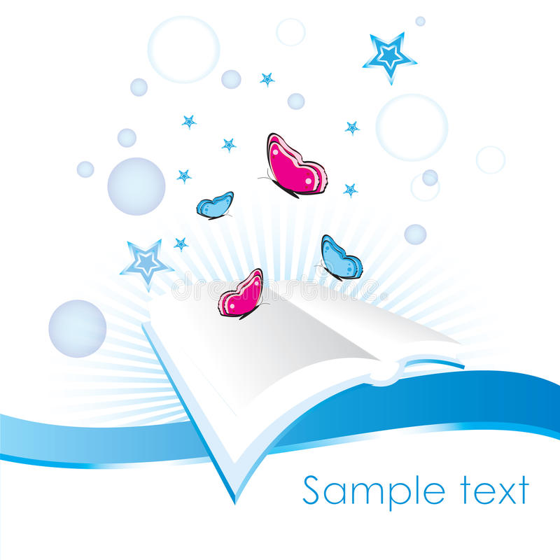 Business_book illustration stock