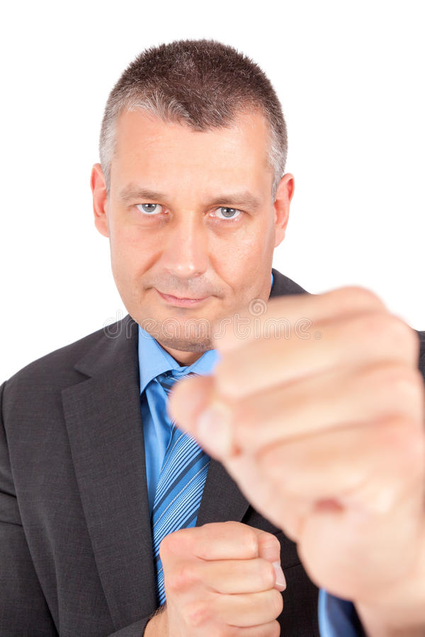 Business boxing stock photography