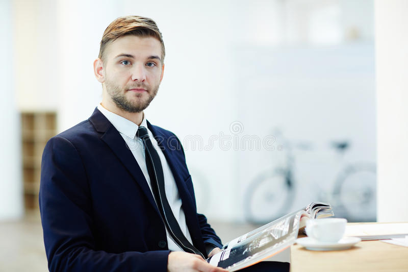 Business break stock photography