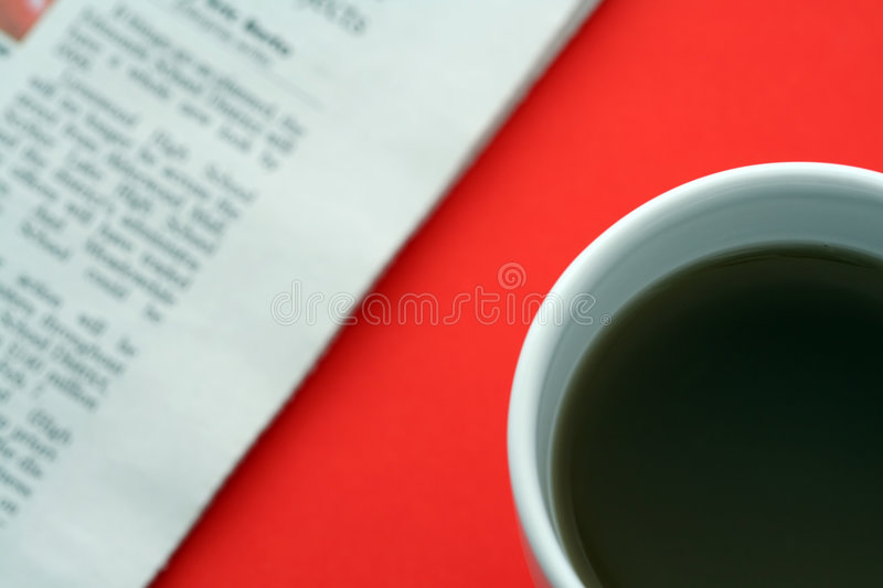 Business Breakfast Stock Image
