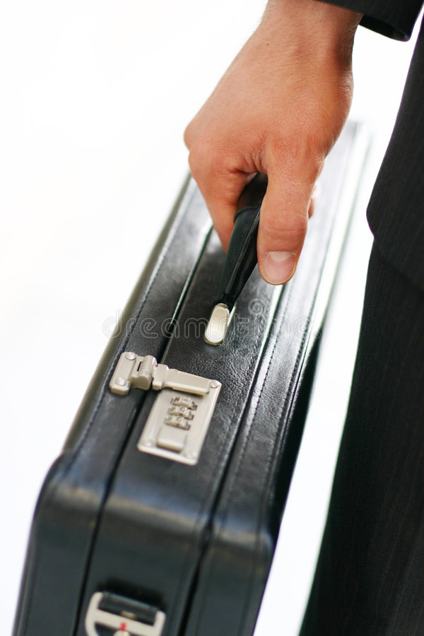 Business briefcase stock photography