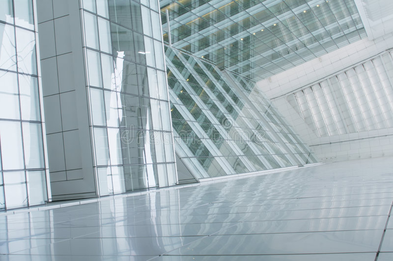 Business Building Abstract Background royalty free stock photography