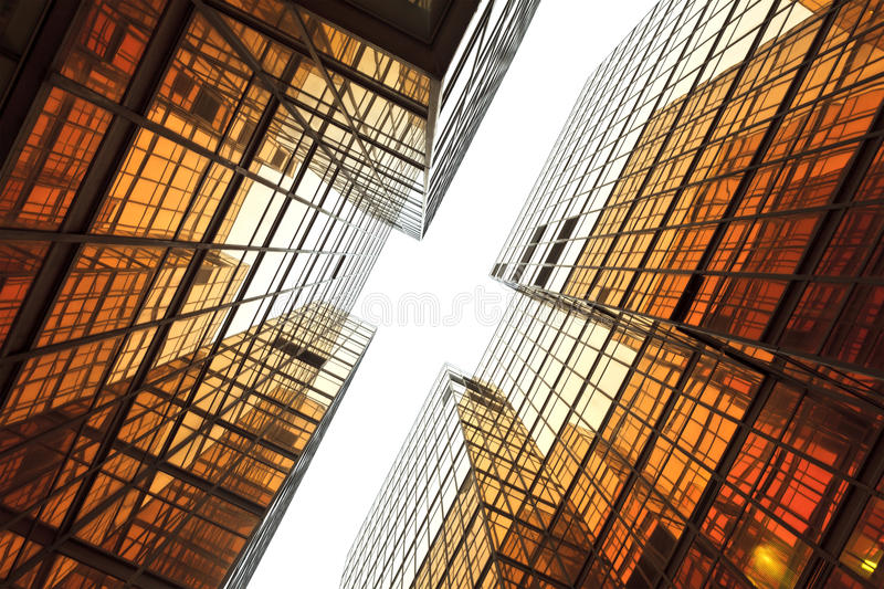 Business building exterior royalty free stock photo
