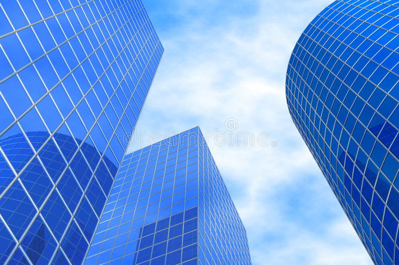 Download Business buildings stock illustration. Image of design - 6996994