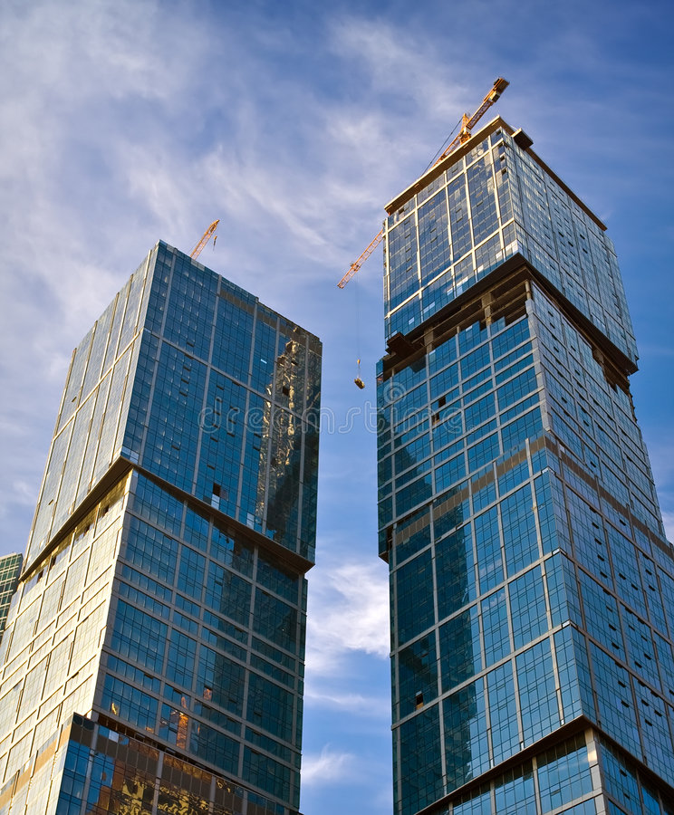 Download Business buildings stock image. Image of estate, towers - 7565255