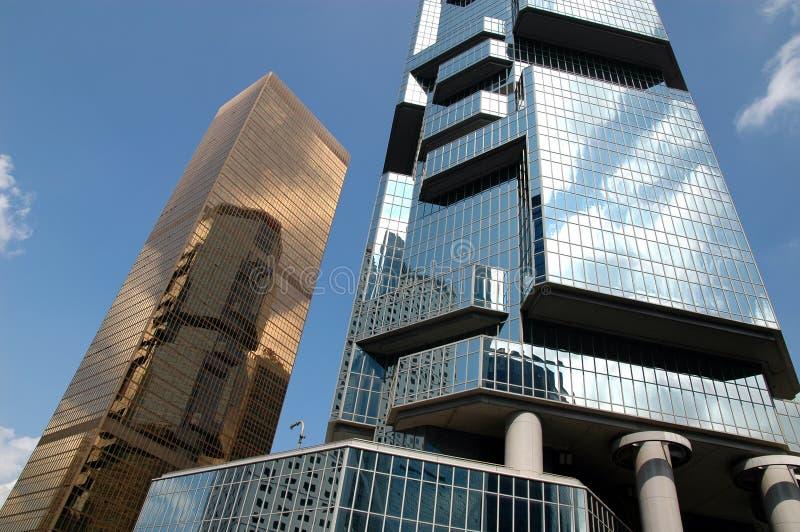 Business buildings stock photos