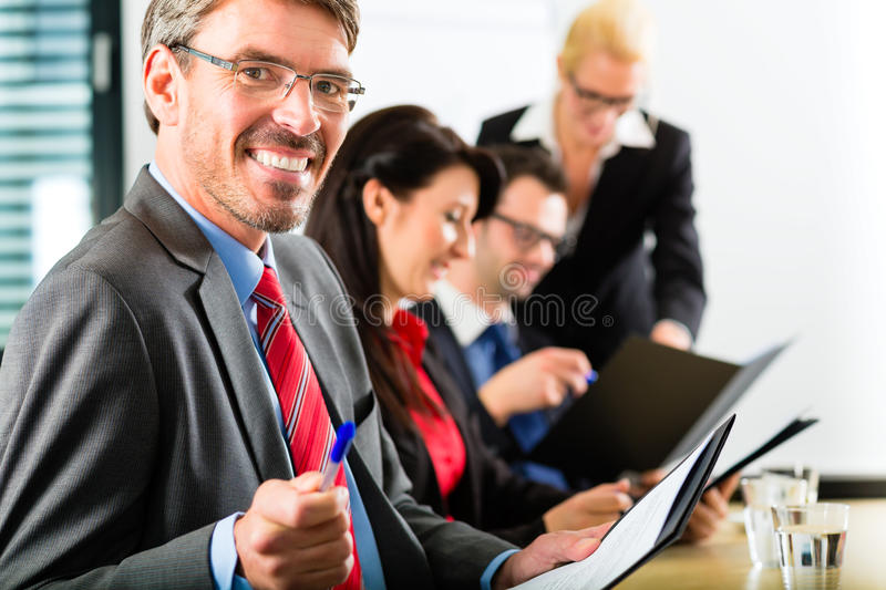 Download Business - Businesspeople Have Team Meeting Stock Photo - Image: 33489006