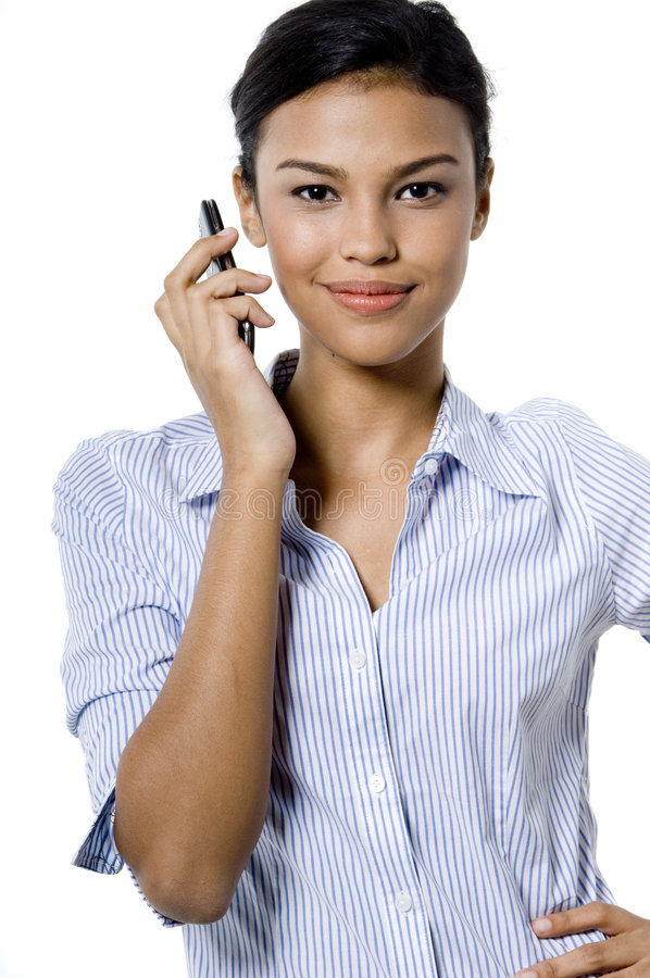 Business Call stock image