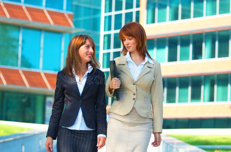 Download Business campus women stock image. Image of redhead, girl - 1358853