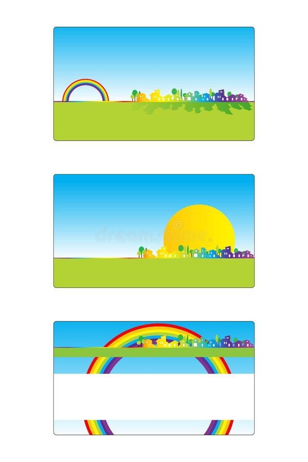 Business card 03 stock illustration