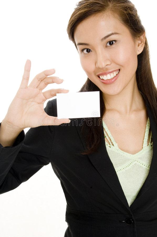 Download Business Card stock image. Image of isolated, white, career - 1243899