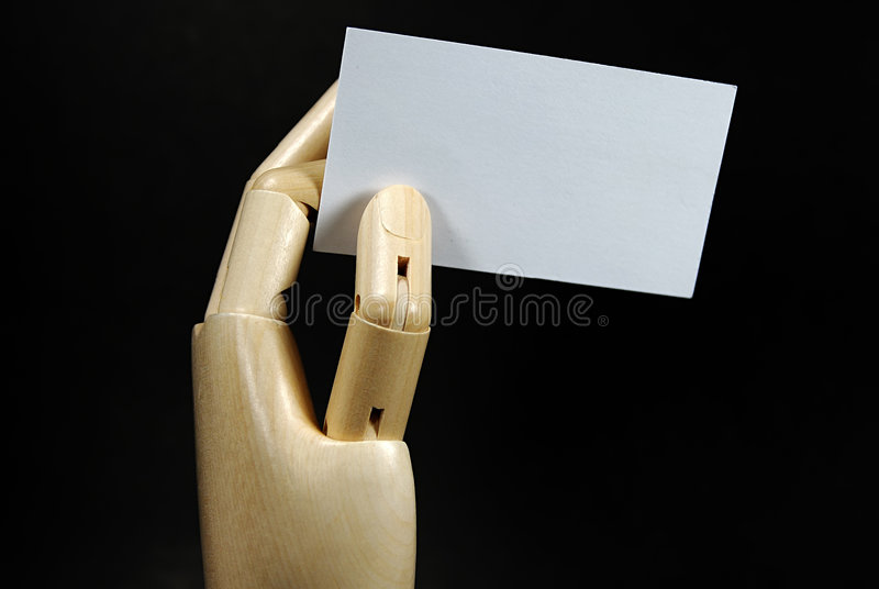 Business Card 2 stock photography