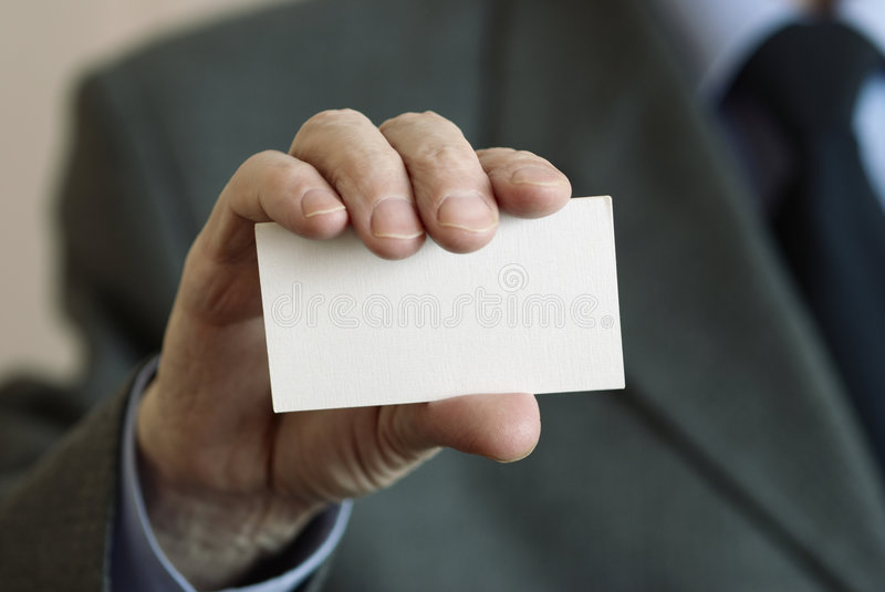 Download Business Card Royalty Free Stock Photography - Image: 2320247