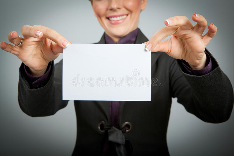 Download Business card stock image. Image of holding, close, executive - 28781563