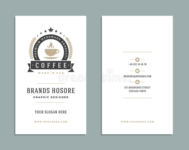 Business card design and retro logo template vector design element download business card design and retro logo template vector design element vintage style for logotype reheart Image collections