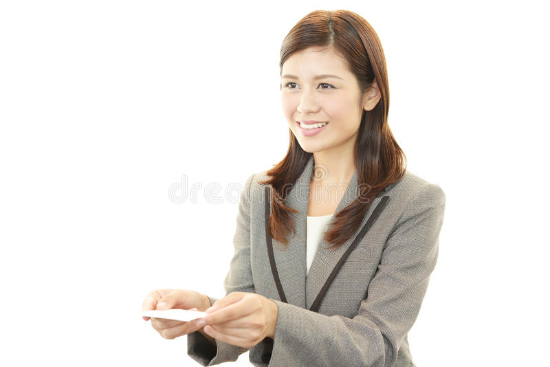 Download Business Card Exchange stock photo. Image of company - 39510104