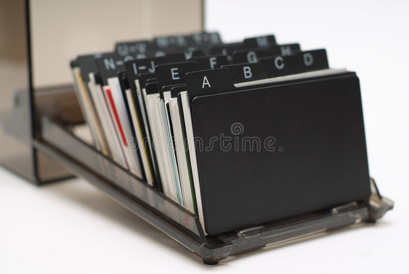 Business Card Holder 1 stock photos