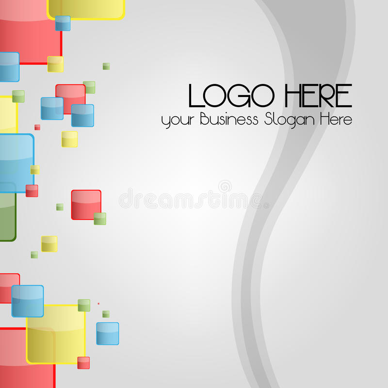 Download Business Card Or Logo Background For Stationary Stock Vector - Image: 27323605