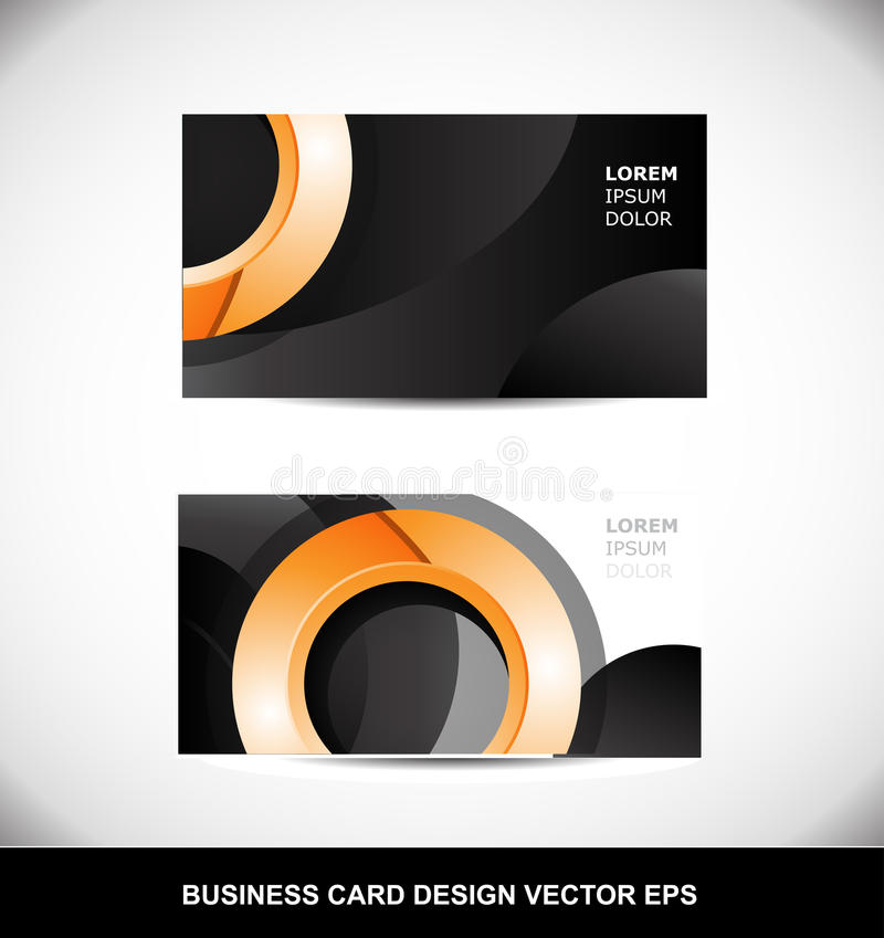 Business card orange circle vector design template eps stock vector download business card orange circle vector design template eps stock vector illustration of abstract flashek Gallery