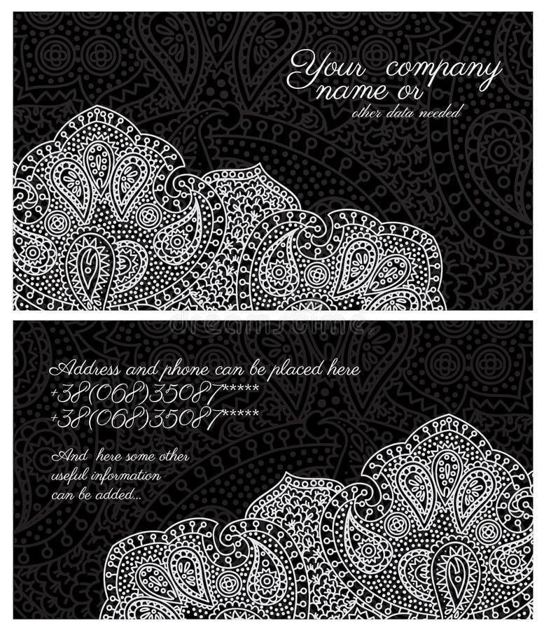 Business card stock illustration