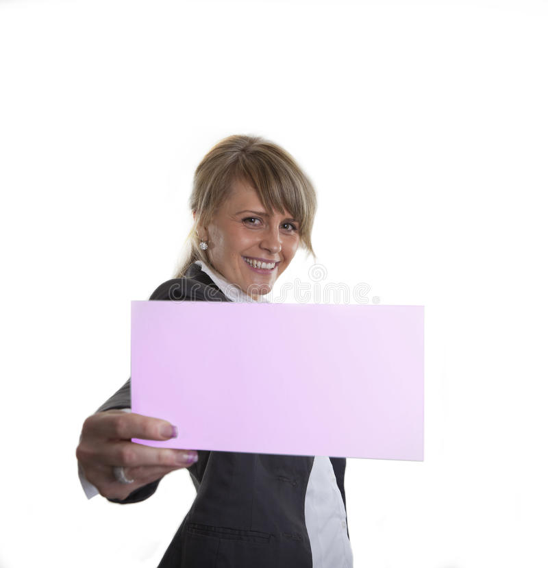 Download Business Card Or  Sign Royalty Free Stock Photos - Image: 16577508