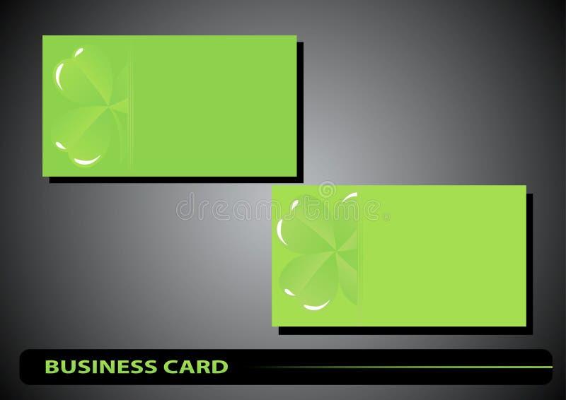 Download Business Card St. Patricks Day Stock Vector - Illustration of leaf, office: 28501994
