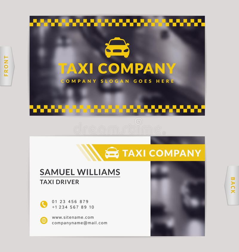 Business card for taxi company stock vector illustration of download business card for taxi company stock vector illustration of driver card colourmoves