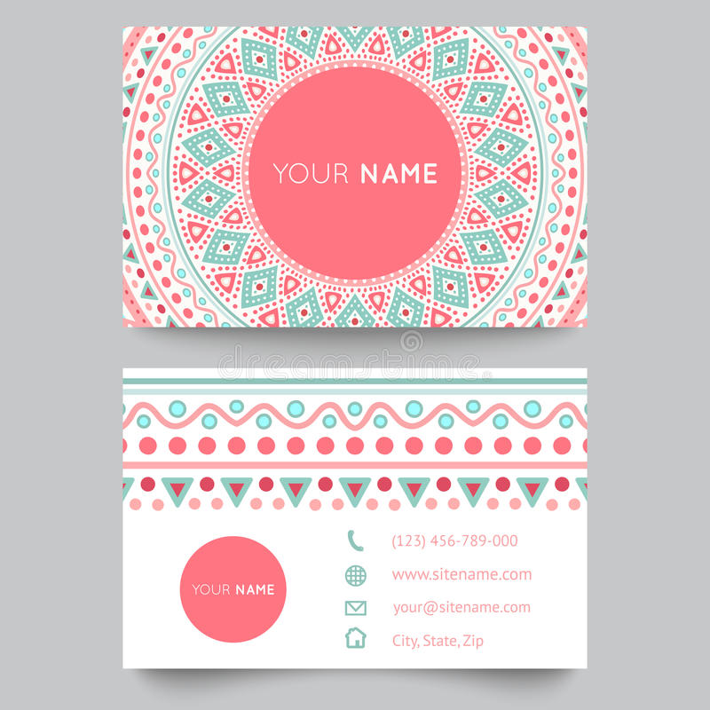 Business card template blue white and pink stock vector download business card template blue white and pink stock vector illustration of background fbccfo Image collections